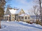 Cottage in winter