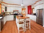 Fully funished shaker styled kitchen