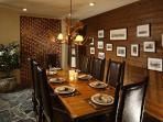 Stunning formal dining space