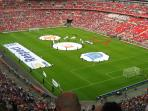 Wembley Stadium 5 miles away