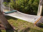 Poolside Hammock to take your cares away...