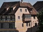 Location of the apt in the medieval house