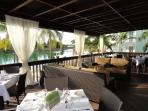 Clubhouse Deck for Breakfast