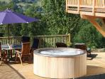 Terrace, Hot Tub and Outside Dining