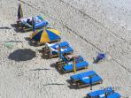 beach service is available March - October.