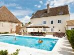 Villa Delphinus holiday vacation luxury villa rental france burgundy bourgogne saunieres, holiday vacation luxury villa to rent france b