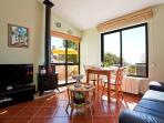 Carob Cottage Lounge Area