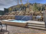 Nothing like a hot-tub after a day in the mountains