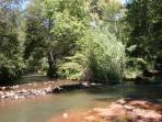 Two Forks of Oak Creek Merging