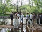 Wedding on Property, on Oak Creek