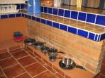 Casita Papaya kitchen-cookward in all kitchens