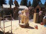 Kirby's Custom Carvings on Big Bear Blvd.