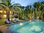 Villa Arhontariki with private pool & sea view
