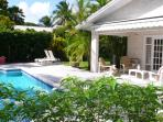 Verandah & pool