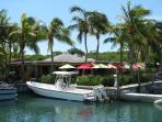 Turtle Cove Marina has restaurants, bars and watersports operators