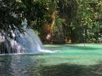 There are a number of irresistibly water falls very nearby Sueno del Mar.