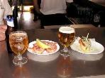 Free tapas with beers around