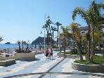 The promenade (six min drive)