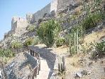 The Almuñecar castle (seven min drive)