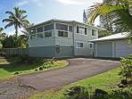 Your vacation home in paradise, with ample parking spaces in the driveway