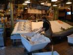 Spend the day at Pike Place Market and bring back some fresh salmon to grill & a bottle of wine.