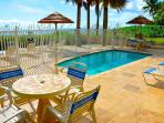 Oceanfront (Gated) Heated Pool & Private Beach Area...