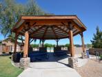 Gazebo's to enjoy at all three Johnson Ranch Recreations Centers!
