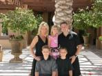 Your hosts....Tammy & her family!