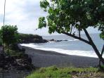 Black Sand Beach!!
