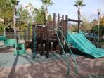Playground in the neighborhood.