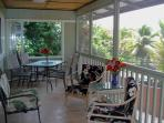 Enjoy the view on your covered and screened lanai