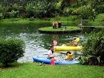 Kayaking in your Backyard.. too much fun!