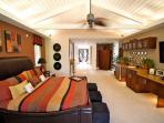 Exquisite master suite with kitchenette