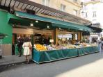 Near by fresh fruits shop