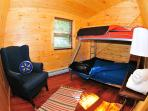 Second Floor - Bunk Bed (Double + Twin Size)