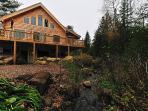 Ninja Log Home Exterior