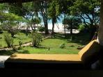 Day beds on veranda