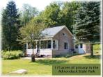 Forest Pond Cottage pets welcome Adirondackstatepark private cozy clean 115acres