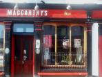 the famous McCarthy's Bar, Castletownbere