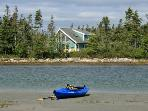 Kayaking paradise at Ragged Island Retreat