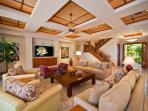 Sapphire Seas Beach Estate - Expansive Great Room Living Area