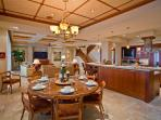 Sapphire Seas Beach Estate - Indoor Dining For All Guests