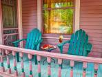 Relax on front porch and watch the 'buzz' of White Street