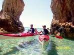 Kayak tour into the cave rent a kayak with us