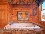 Enjoy a Relaxing Soak In The WhirlpoolTub