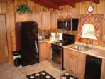 roomy, open kitchen to fix breakfast or dinner