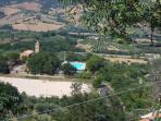Public pool in village