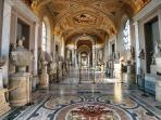 Vatican Museums inside