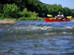 Nearby: Enjoy a canoe trip on the Shenandoah River with Shenandoah River Adventures.