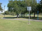 Key Largo Community Park exercise trail.
